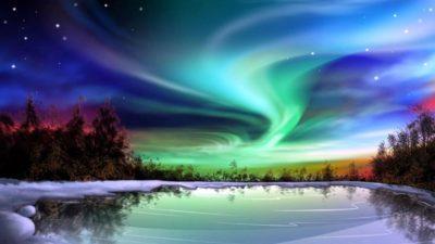 aurora boreal circulo polar