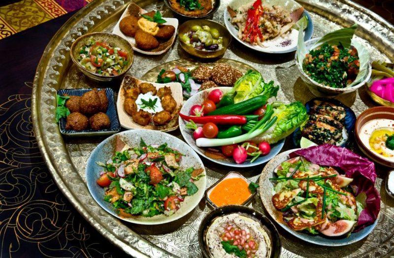 comida platos marruecos