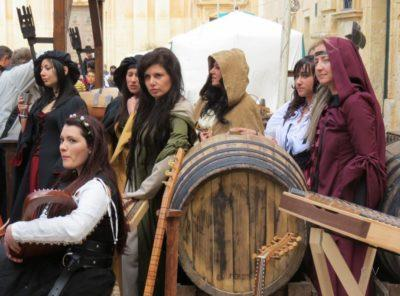 festival medieval mdina malta
