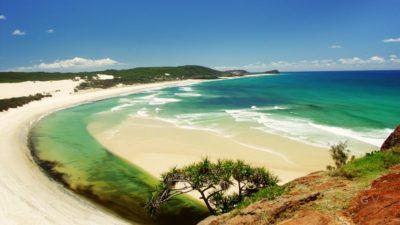 playas isla fraser australia