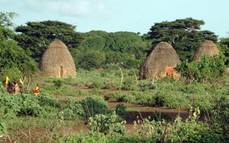 pueblo de tanzania