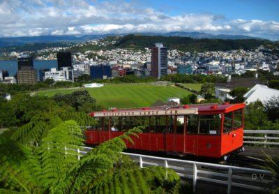 visitar wellington cable car