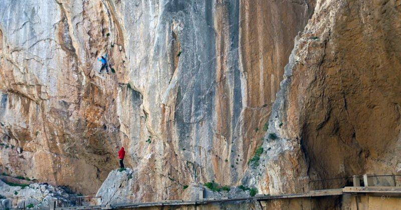 el chorro malaga escalada
