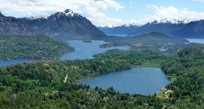 paisaje san carlos de bariloche argentina