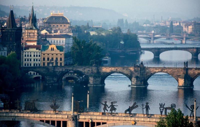 puentes praga