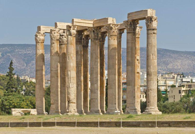 templo zeus olimpico