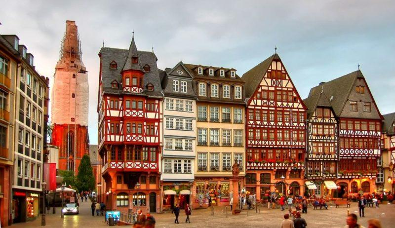 viajar frankfurt ciudad alemania
