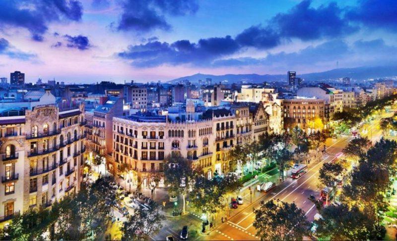 top 5 alojamiento en barcelona 2018