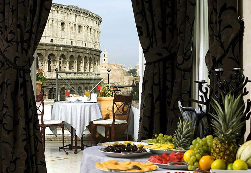 dormir en roma italia