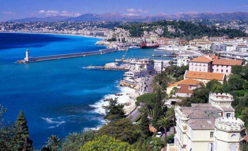 navegar costa azul francia