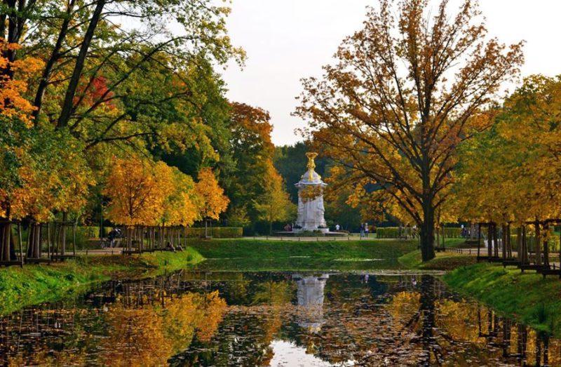 parque tiergarten berlin alemania