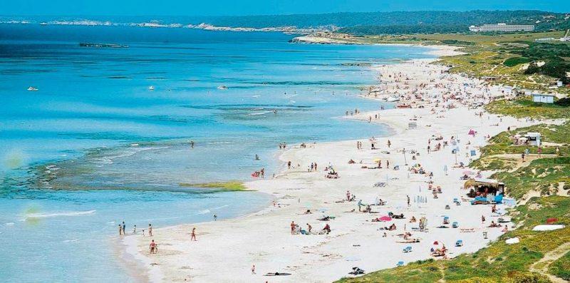 playas naturistas menorca