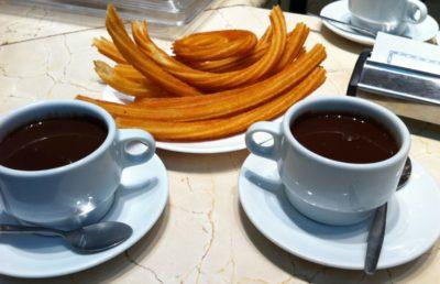 desayuno madrid churros