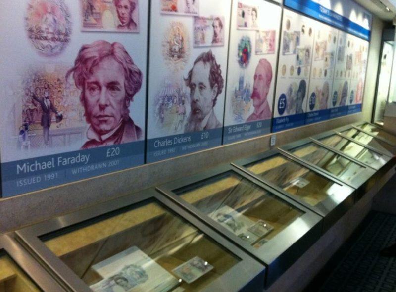 bank of england museo para ninos