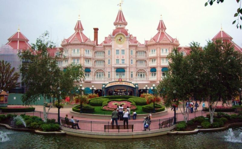 disneyland resort paris francia
