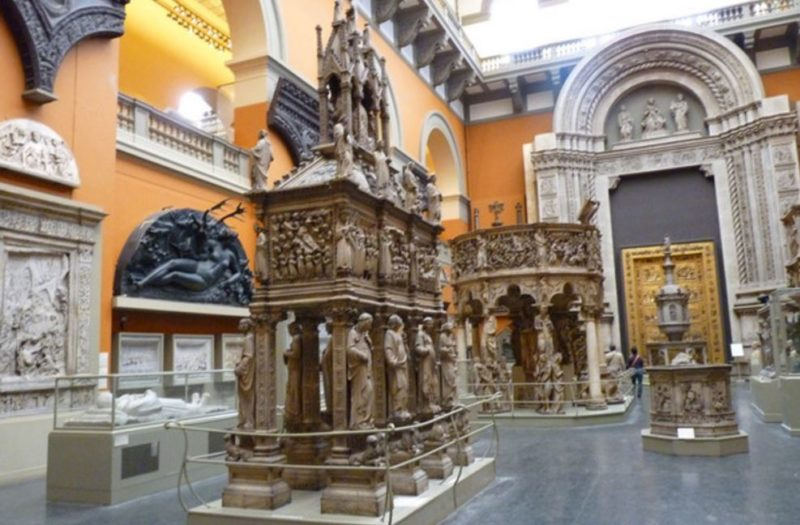 interior museo victoria y albert londres