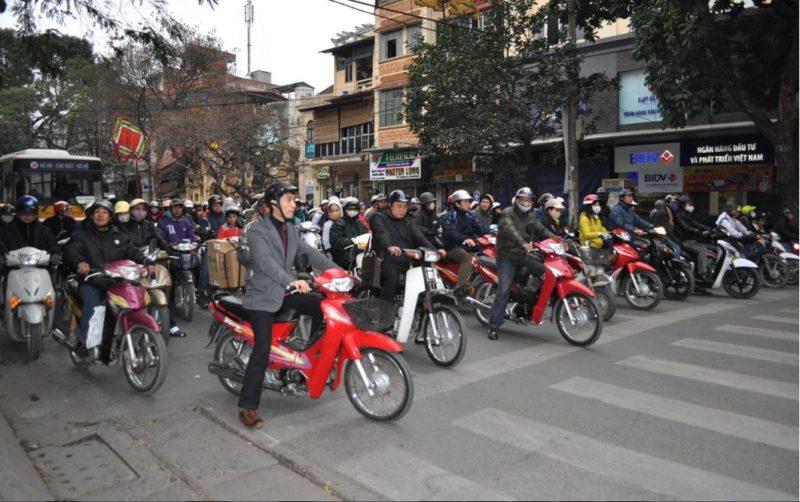 motocicletas hanoi vietnam