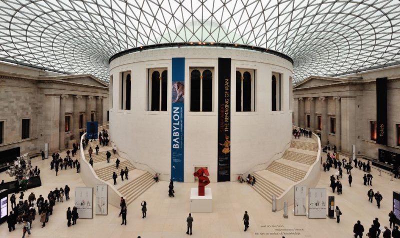 museo britanico interior
