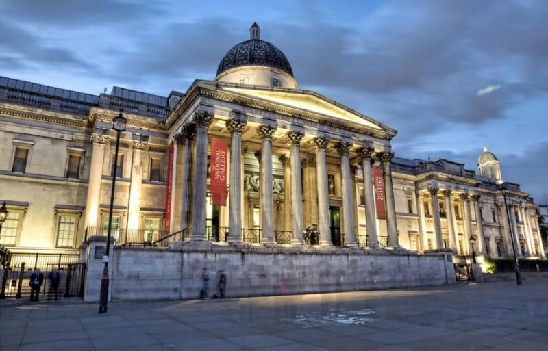 Galería Nacional Importante museo de arte de Londres