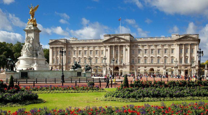 Palacio de Buckingham Residencia oficial de la monarquia inglesa en Londres.