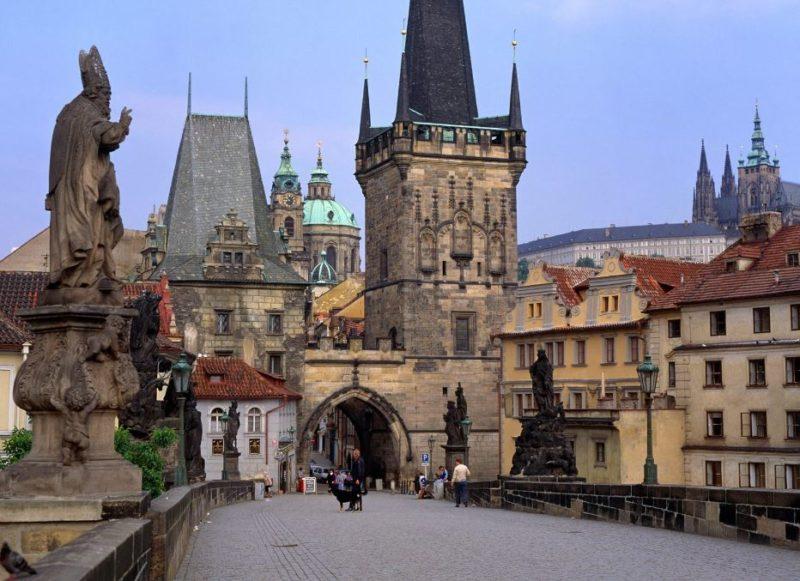 ciudad praga vacaciones europa
