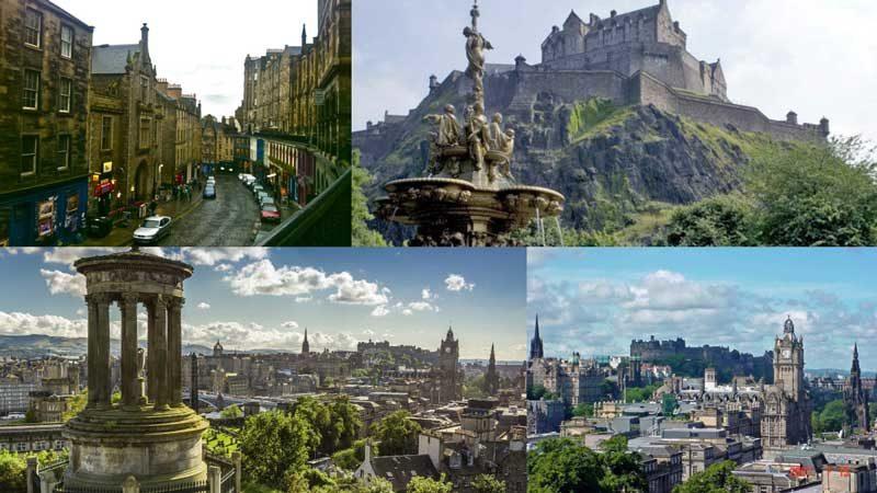 edimburgo ciudades europa