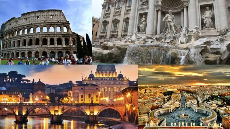 roma vacaciones europa