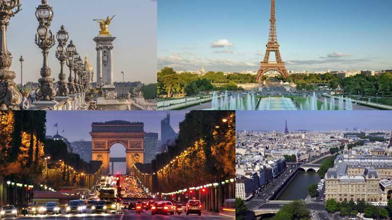 vacaciones paris ciudad europa