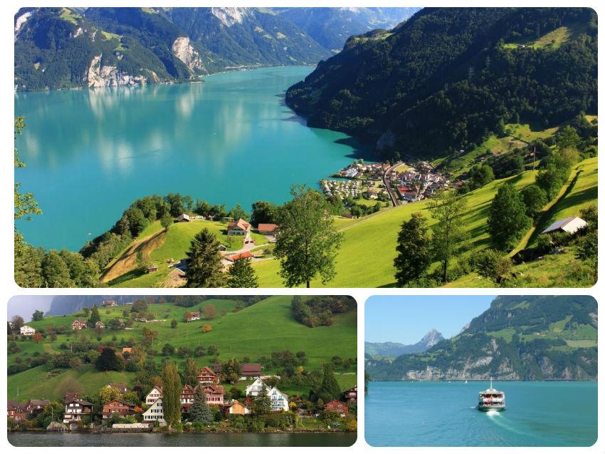 lago lucerna suiza