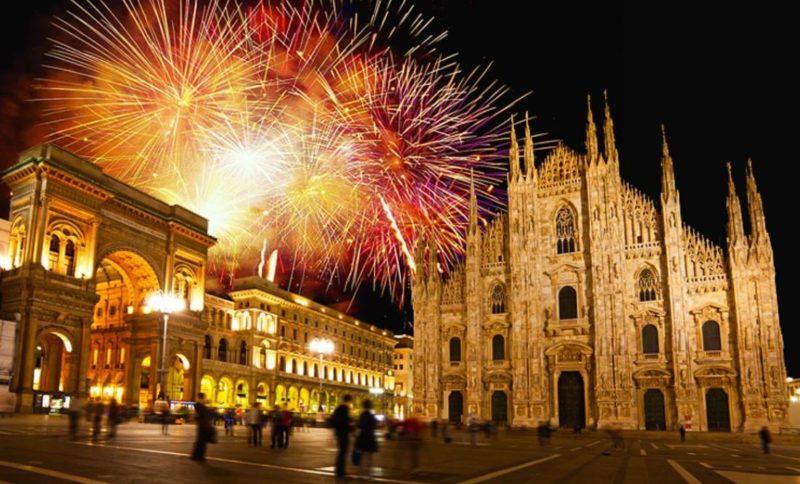 noche vieja milan italia