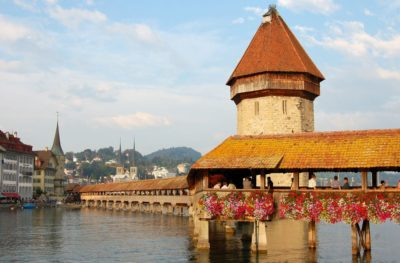 puente de la capilla lucerna suiza