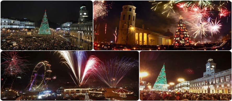 La Puerta Del Sol En Ano Nuevo 2019 Guiaviajesa Com