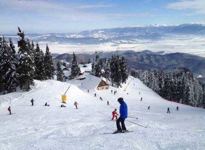 Deportes de invierno en Sinaia