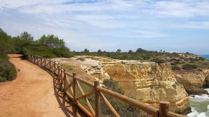 Un paseo por la costa de Algarve