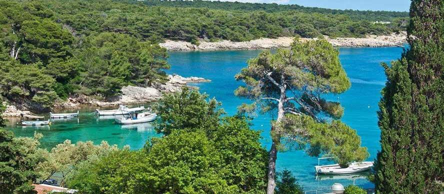 isla rab croacia