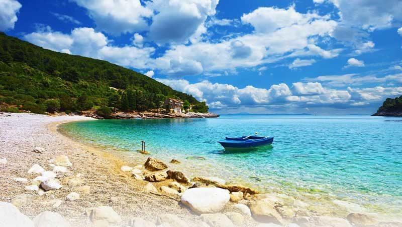 Paradisiaca playa Rab Croacia