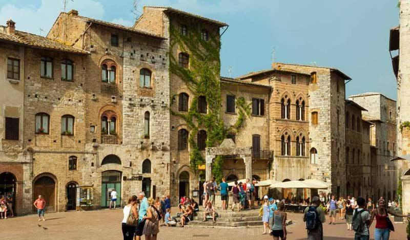 pueblito medieval de San Gimignano