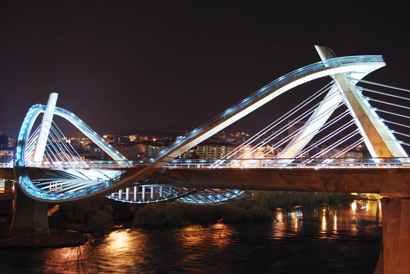 Puente del Milenio, Turismo de Ourense
