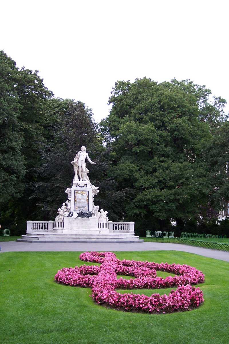 Denkmal Mozart