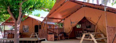 acampada de lujo