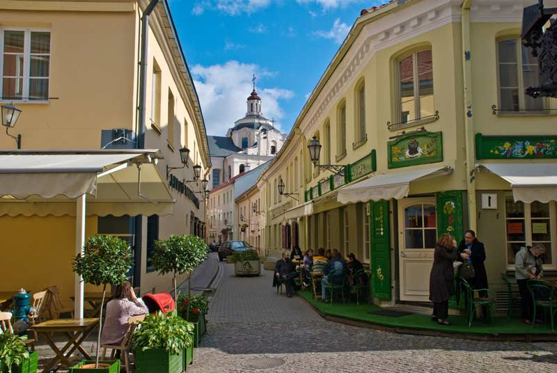 El barrio judío de Vilna